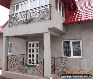 Fier forjat, tamplrie PVC, balustrada fier forjat