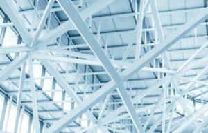 Hale, structuri metalice