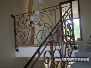 balustrada fier forjat, fier forjat Darabani, elemente fier forjat