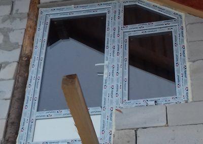 Ferestre PVC si geam termopan