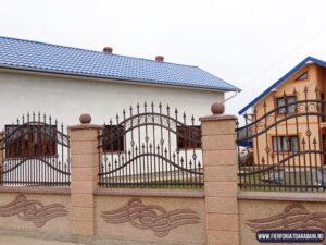 Gard fier forjat Suceava